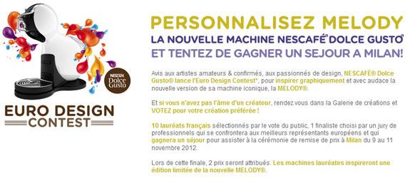 Dolce-gusto.fr - Jeu facebook Nescafe Dolce Gusto Espresso