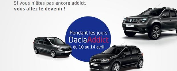 Dacia.fr - Jeu facebook Dacia France