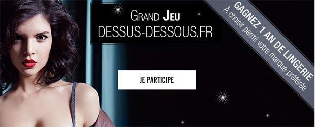 Jeu facebook Dessus-Dessous Lingerie