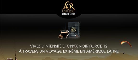 Experiencelorespresso.com - Jeu facebook L'OR EspressO France