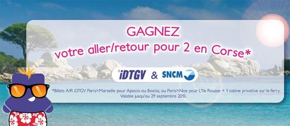 iDTGV.com - Jeu facebook iDTGV