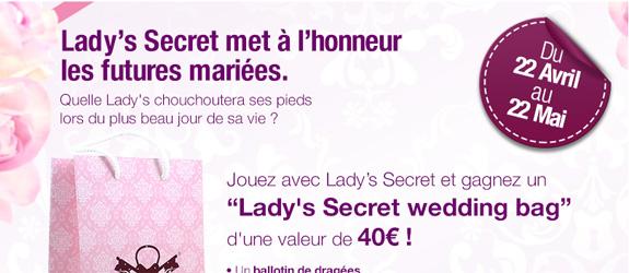 Lady-secret.fr - Jeu facebook Lady's Secret