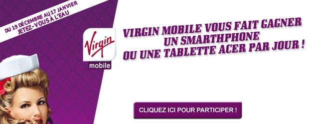 Virginmobile.fr - Jeu facebook Virgin Mobile France