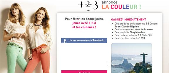 1-2-3.fr - Jeu facebook 1.2.3