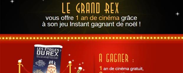 Legrandrex.com - Jeu facebook Le Grand Rex
