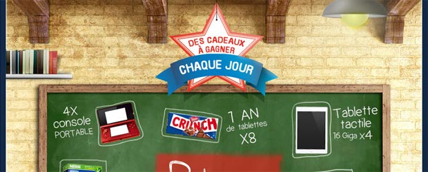 Nestle.fr - Jeu facebook Nestle Crunch Cereales