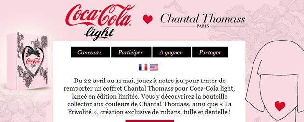 Chantalthomass.fr - Jeu facebook Chantal Thomass