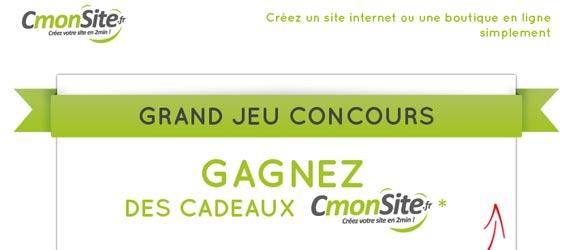 CmonSite.fr - Jeu facebook CmonSite.fr