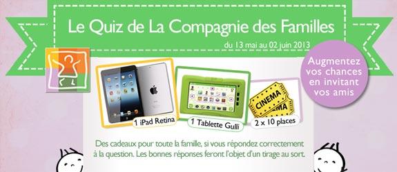 Lacompagniedesfamilles.com - Jeu facebook La Compagnie des Familles