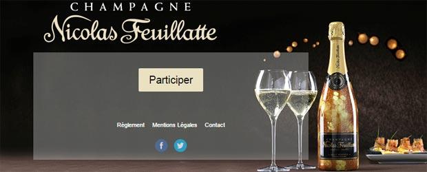 Jeu facebook Champagne Nicolas Feuillatte