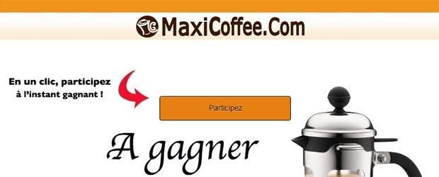 MaxiCoffee.com - Jeu facebook MaxiCoffee.com