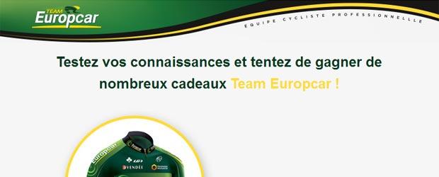 Teameuropcar.com - Jeu facebook Team Europcar