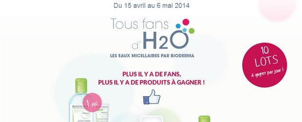 Bioderma.com - Jeu facebook Bioderma France