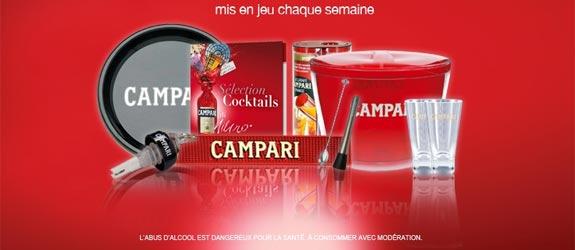 Campari.com - Jeu facebook Campari France