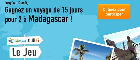 Covoiturage.fr - Jeu facebook BlaBlaCar.fr - Covoiturage.fr