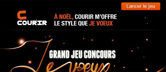 Courir.com - Jeu facebook Courir