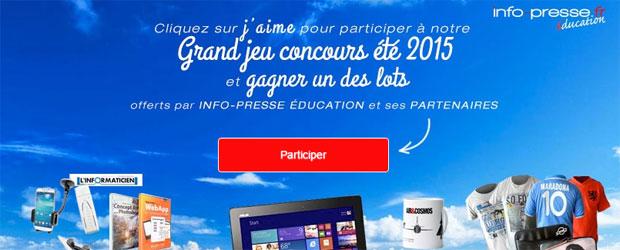 Jeu facebook Info-Presse éducation