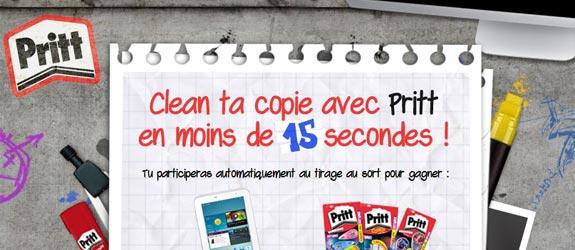 Prittworld.fr - Jeu facebook Pritt France