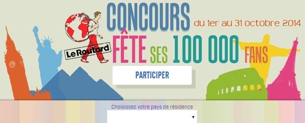 Routard.com - Jeu facebook Le Guide du Routard