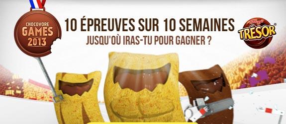 Kelloggs.fr - Jeu facebook Trésor de Kellogg's