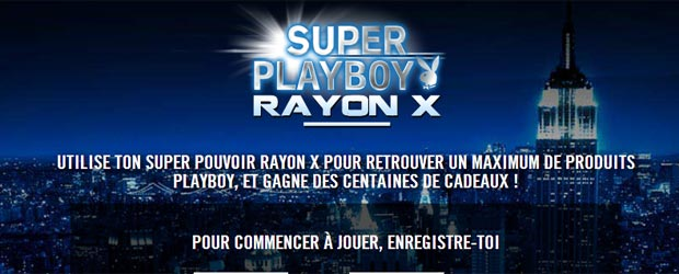 Playboyfragrances.com - Jeu facebook Playboy Parfums