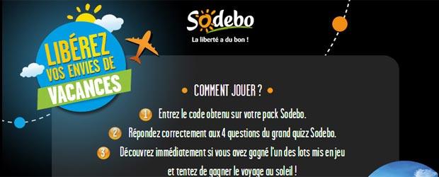 Sodebo.fr - Jeu facebook Sodebo