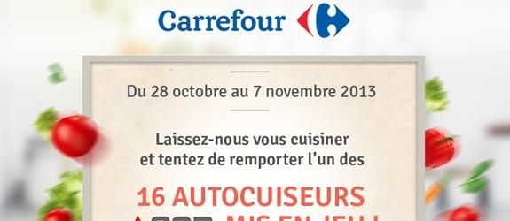 Carrefour.fr - Jeu facebook Idées Recettes