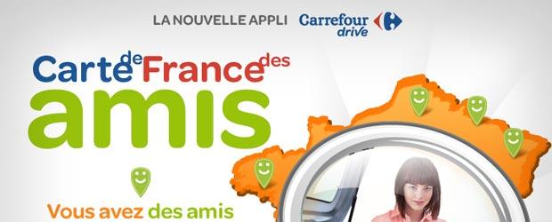 Carrefourdrive.fr - Jeu facebook Carrefour Drive