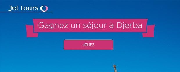 Jettours.com - Jeu facebook Jet Tours