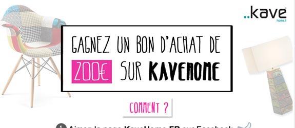 Kavehome.fr - Jeu facebook Kave Home FR