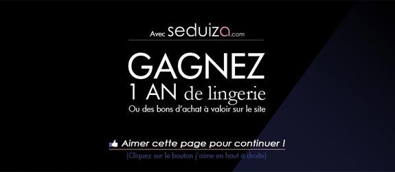 Seduiza.com - Jeu facebook Seduiza