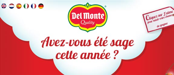 Delmonteeurope.com - Jeu facebook Del Monte Europe