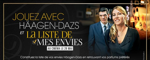 Haagen-dazs.fr - Jeu facebook Häagen-Dazs France