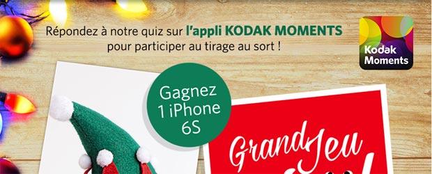 Jeu facebook Kodak France