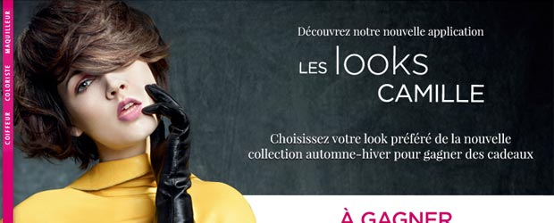 Camillealbane.com - Jeu facebook Camille Albane