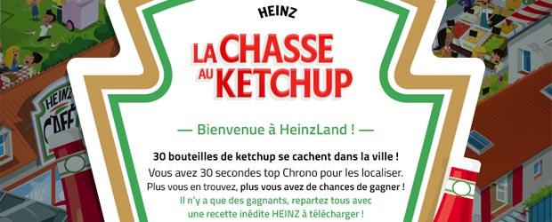 Heinz.fr - Jeu facebook Heinz Ketchup France
