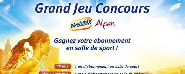 Weetabix.fr - Jeu facebook Weetabix France