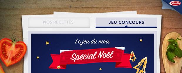 Barilla.com - Jeu facebook Barilla France