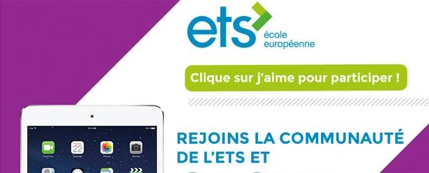 Ecole-europeenne.com - Jeu facebook ETS École Européenne