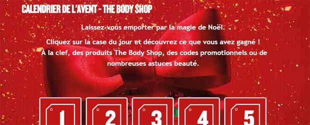 Jeu facebook The Body Shop France