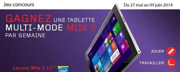 Lenovo.com - Jeu Facebook Lenovo France