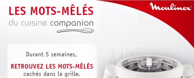 Moulinex.fr - Jeu Facebook Moulinex