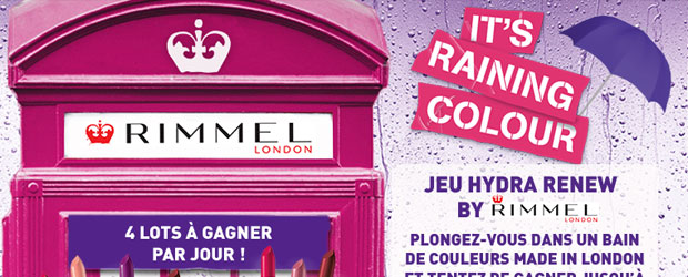 Jeu facebook Rimmel London