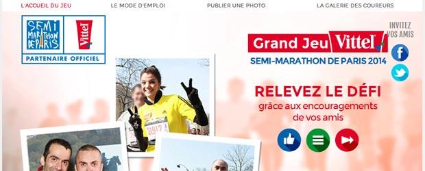 Vittel.fr - Jeu facebook Vittel