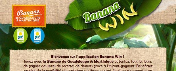 Bananeguadeloupemartinique.com - Jeu Facebook Banane de Guadeloupe & Martinique