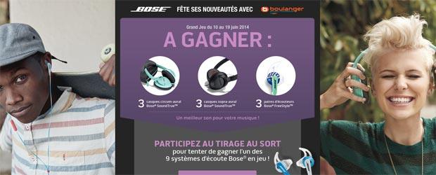 Boulanger.fr - Jeu facebook Boulanger Multimédia