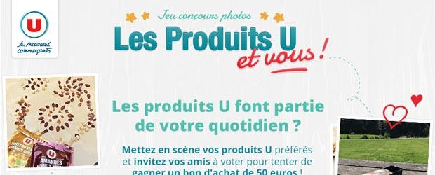 Magasins-u.com - Jeu facebook La Marque U