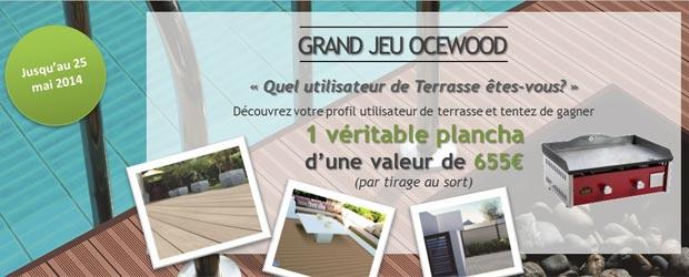 Ocewood.fr - Jeu facebook Ocewood France