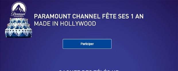 Paramountchannel.fr - Jeu facebook Paramount Channel France