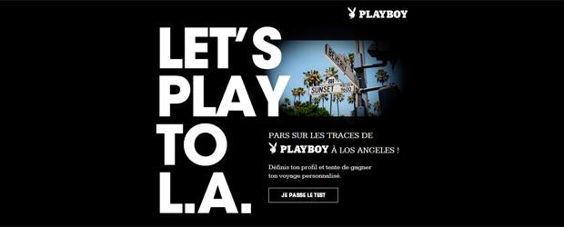 Playboy.fr - Jeu facebook Playboy Underwear France